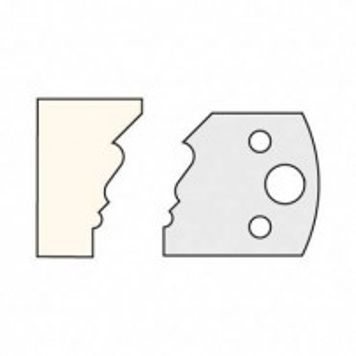 Trend IT/3310740 Knife 40mm x 4mm tool steel (pair)