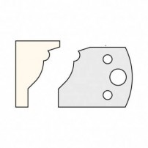 Trend IT/3310940 Knife 40mm x 4mm tool steel (pair)