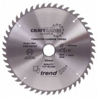 Trend CSB/16248 CraftPro Saw Blade 162mm x 48T x 20mm