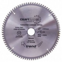 Trend AP/216X64X30 Saw blade alloy or plastic 216mm x 64 th. x 30mm