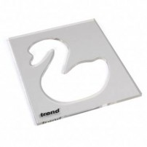 Trend TEMP/IN/SWA Template inlay swan