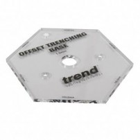 Trend TEMP/OTB/A Template 1.0mm offset trench base