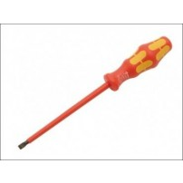 Wera Kraftform 160 VDE Insulated Screwdriver Slotted 2.5 x 80mm