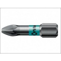 Wera 855/1 BTZ Pozidriv BiTorsion PZ1 Bit Extra Tough 25 mm Pack 10