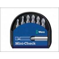 Wera Mini Check Pozi Bit Set (7-Piece)