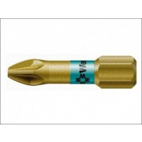 Wera 855/1 BTH Pozidriv BiTorsion PZ1 Bit Extra Hard 25 mm Pack 10