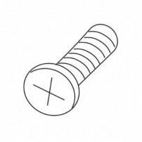 Trend WP-T4/016 Screw self tapping pan 4mm x12mm Pozi T4