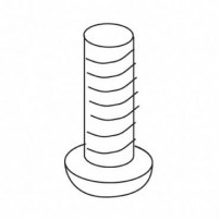 Trend WP-T4/070 Machine screw pan M4X12mm Pozi