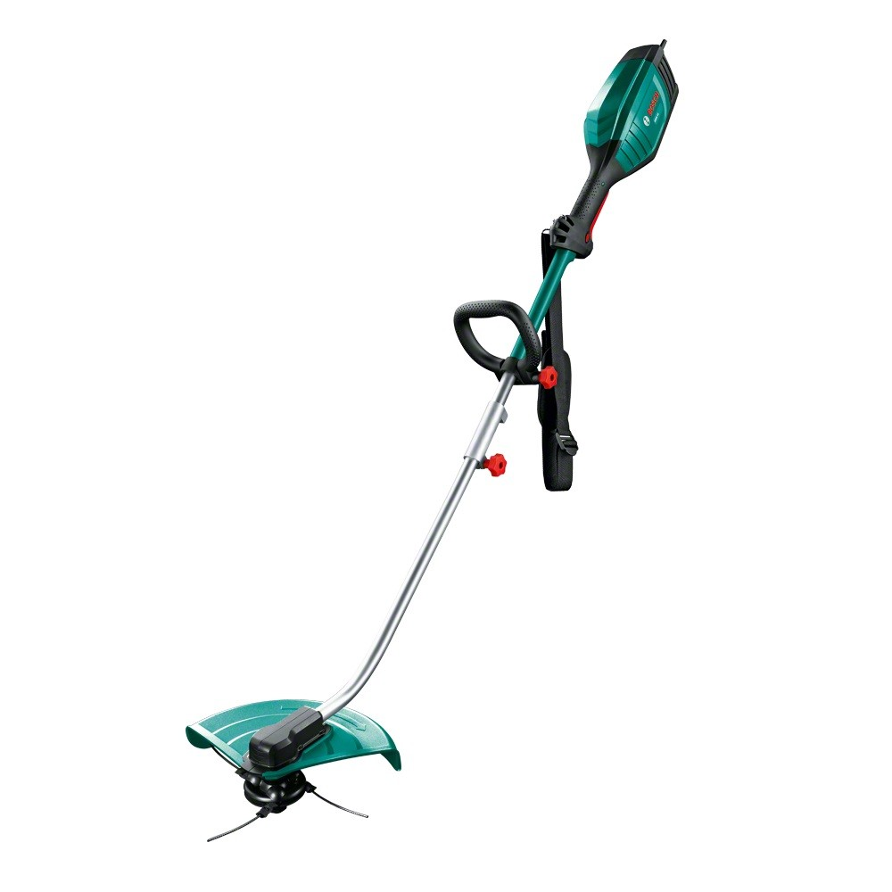 Bosch Green AMW 10 RT Corded Multi Tool inc Heavy Duty Trimmer Attachment 1000W 240v 06008A3370