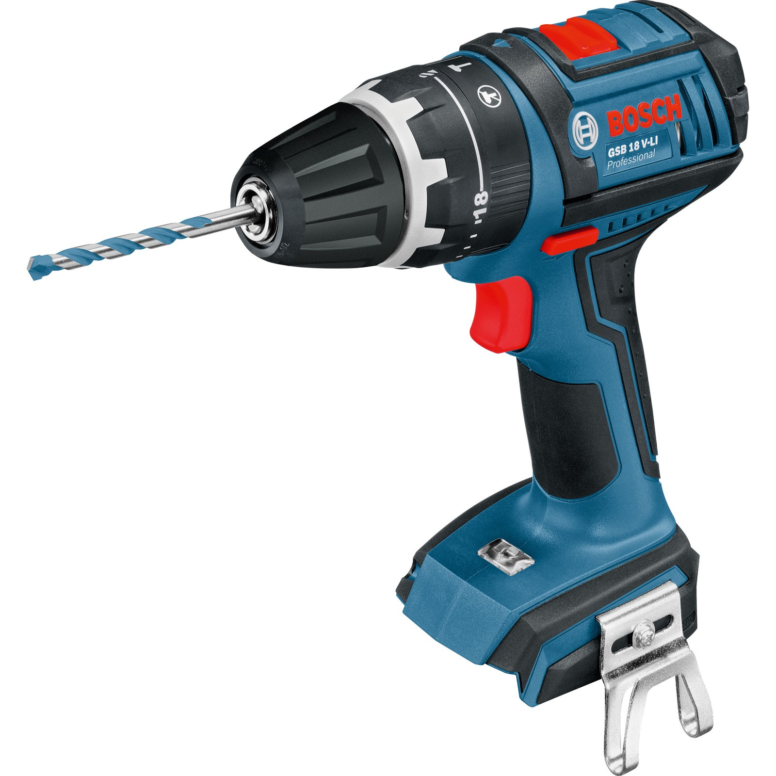 Bosch GSB 18 V-LI Combi Drill Dynamic Series Body Only