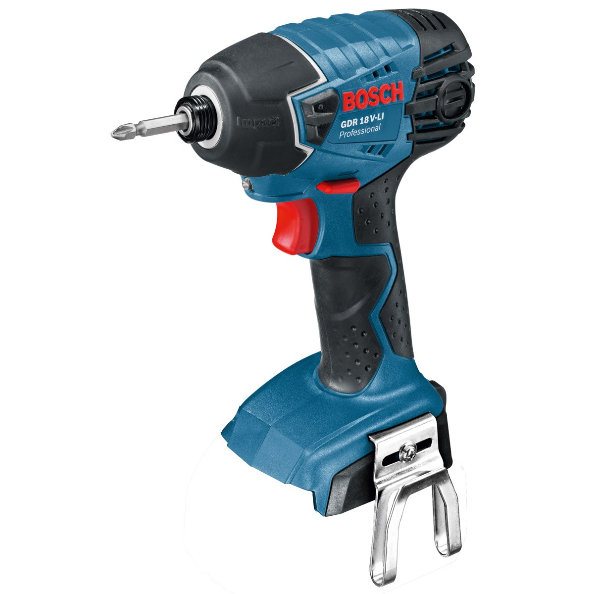 bosch gdr 18 v li impact driver body only 06019a1301 06019a130f powertool world. Black Bedroom Furniture Sets. Home Design Ideas