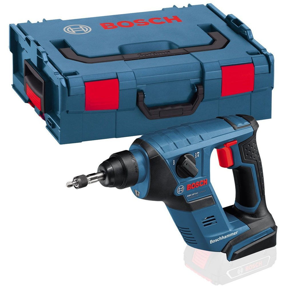 Bosch GBH 18 V-LICP Compact Professional SDS+ Plus Rotary Hammer Body Only in L-Boxx