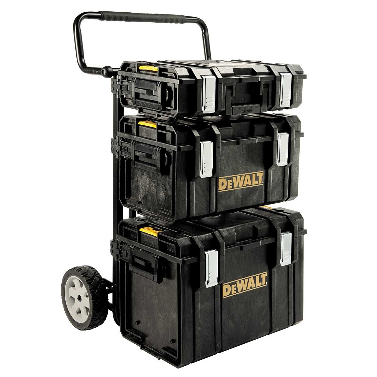 DeWalt 1-70-349 TOUGHSYSTEM Full System inc 3x Cases & Trolley