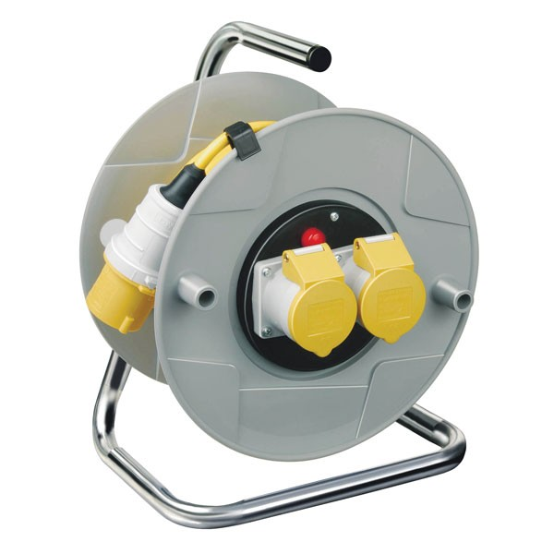 Brennenstuhl 1098743 Standard AK 260 2-Socket Extension Cable Reel 25 Metre 110v
