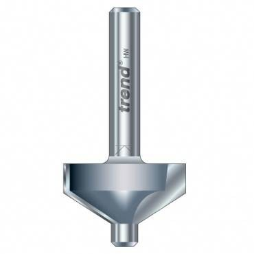 Trend 10H/2X1/4TC Pin guided chamfer bevel cutter 30 deg.