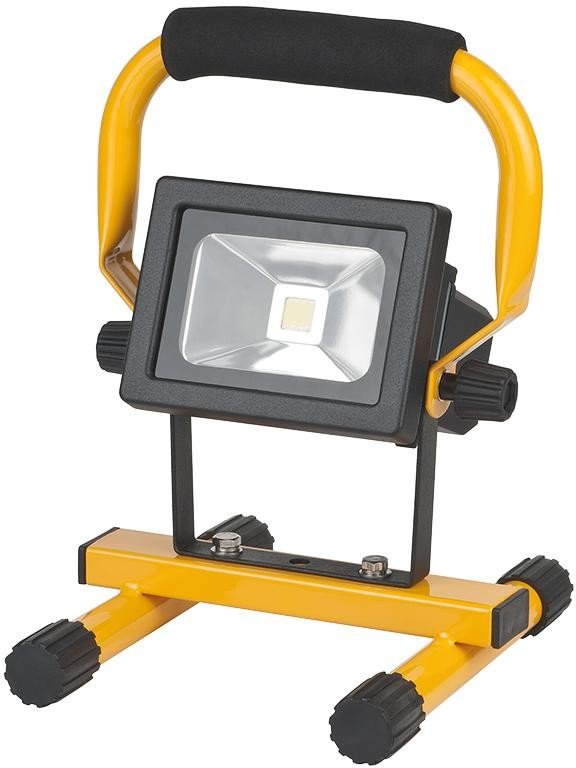 Brennenstuhl 1171263101 Li-Ion Rechargeable Mobile Akku Chip LED Job Site Light 10W 650LM