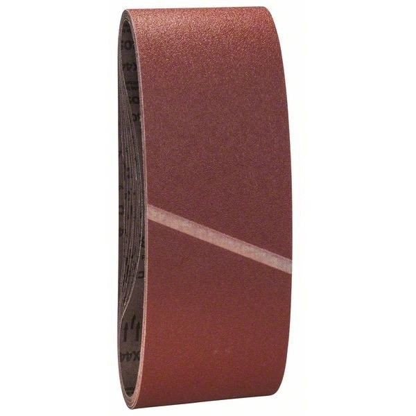 Bosch 80 Grit Sanding Belt Set 100 x 610mm 10 Pcs 2608606136