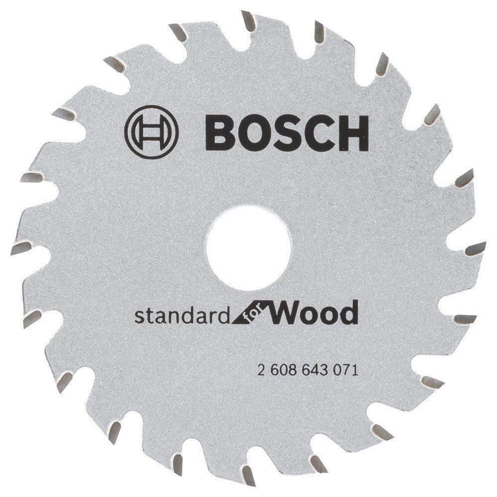 Bosch Optiline Circular Saw Blade Standard for Wood 85mm x 20 th. x 15mm 2608643071