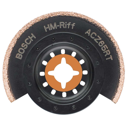 Bosch ACZ 65 RT HM-RIFF Segment GOP Blade Grout & Abrasive 65mm 2608661692