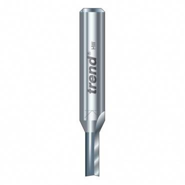 Trend 3/04X1/4TC Two flute cutter 2.5 mm dia.
