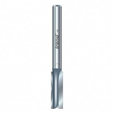 Trend 3/44X1/4TC Two flute cutter 8.1 mm dia.