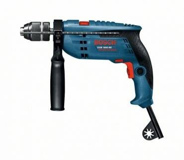 Bosch GSB 1600 RE Single Speed Impact Drill 110v