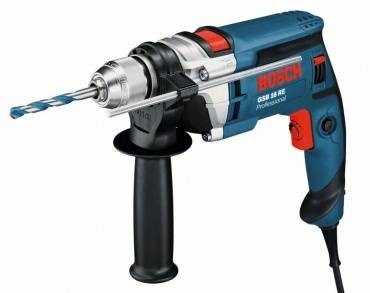 Bosch GSB 16 RE Single Speed Impact Drill 110v