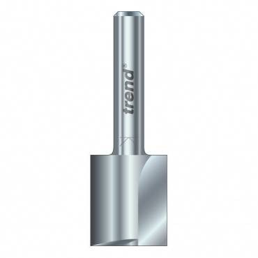 Trend 3/6X1/4HSS Two flute cutter 10 mm dia.