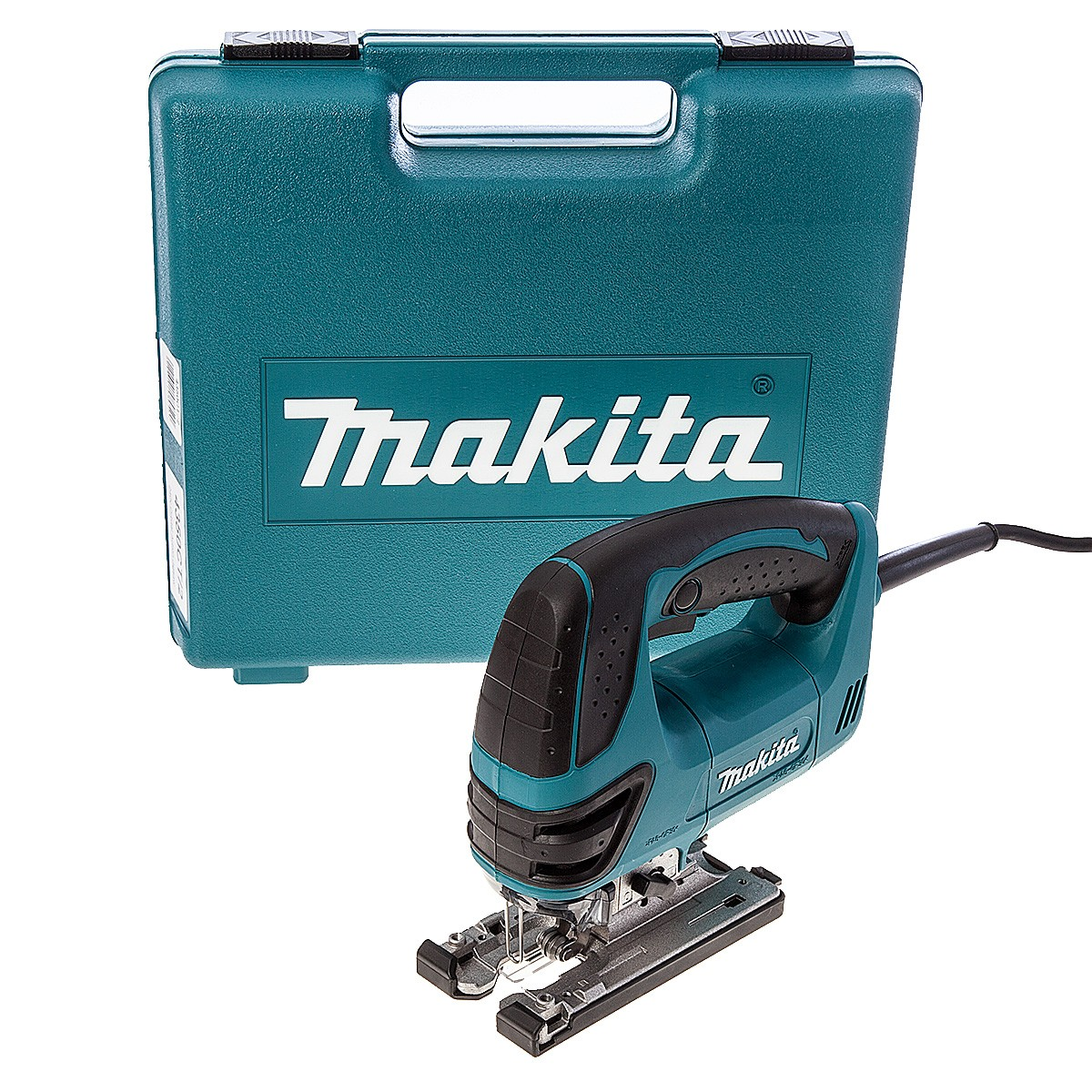 Makita 4350fct orbital action top handle jigsaw in carry case makita 4350fct orbital action top handle jigsaw in carry case powertool world greentooth Images