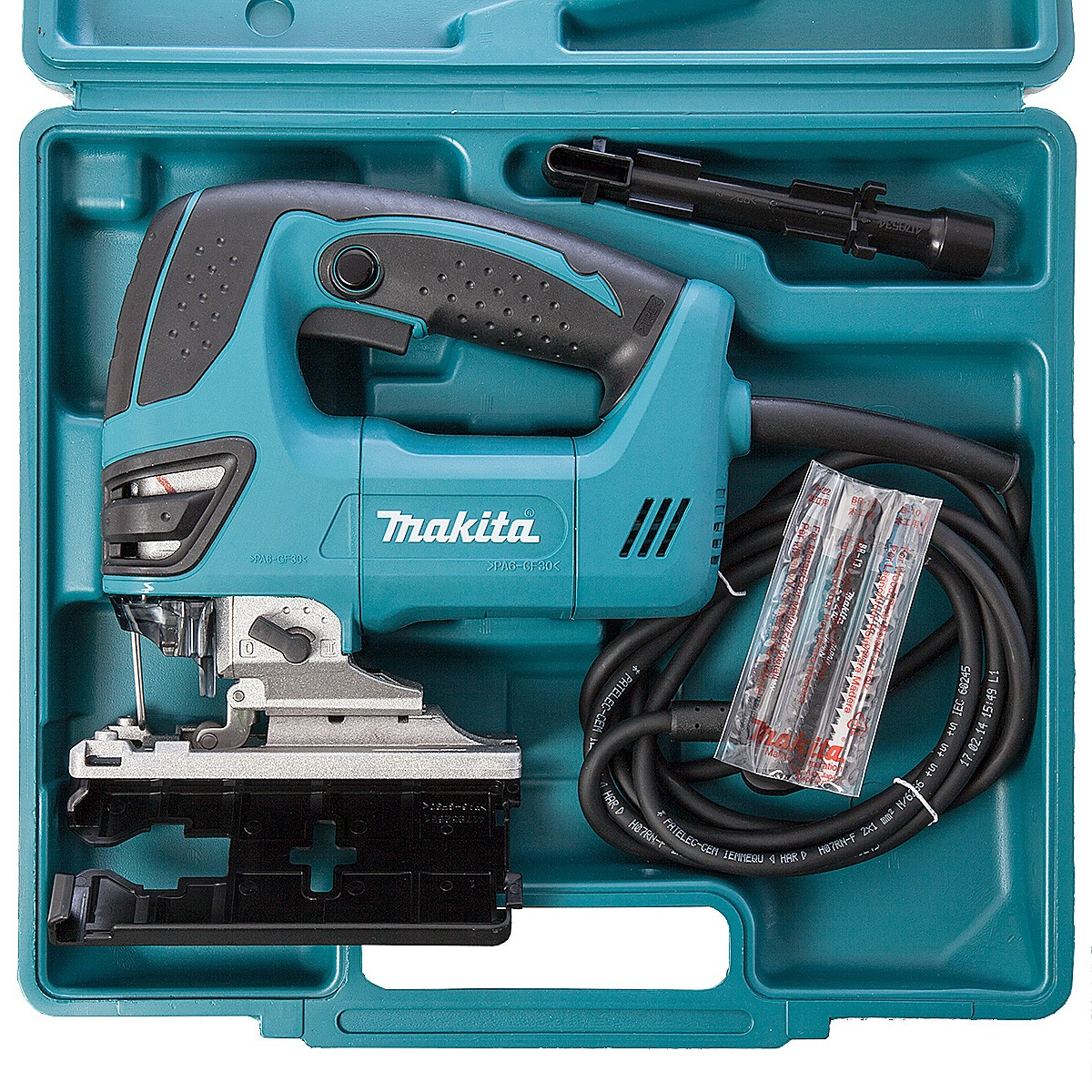 Makita 4350fct Orbital Action Top Handle Jigsaw In Carry
