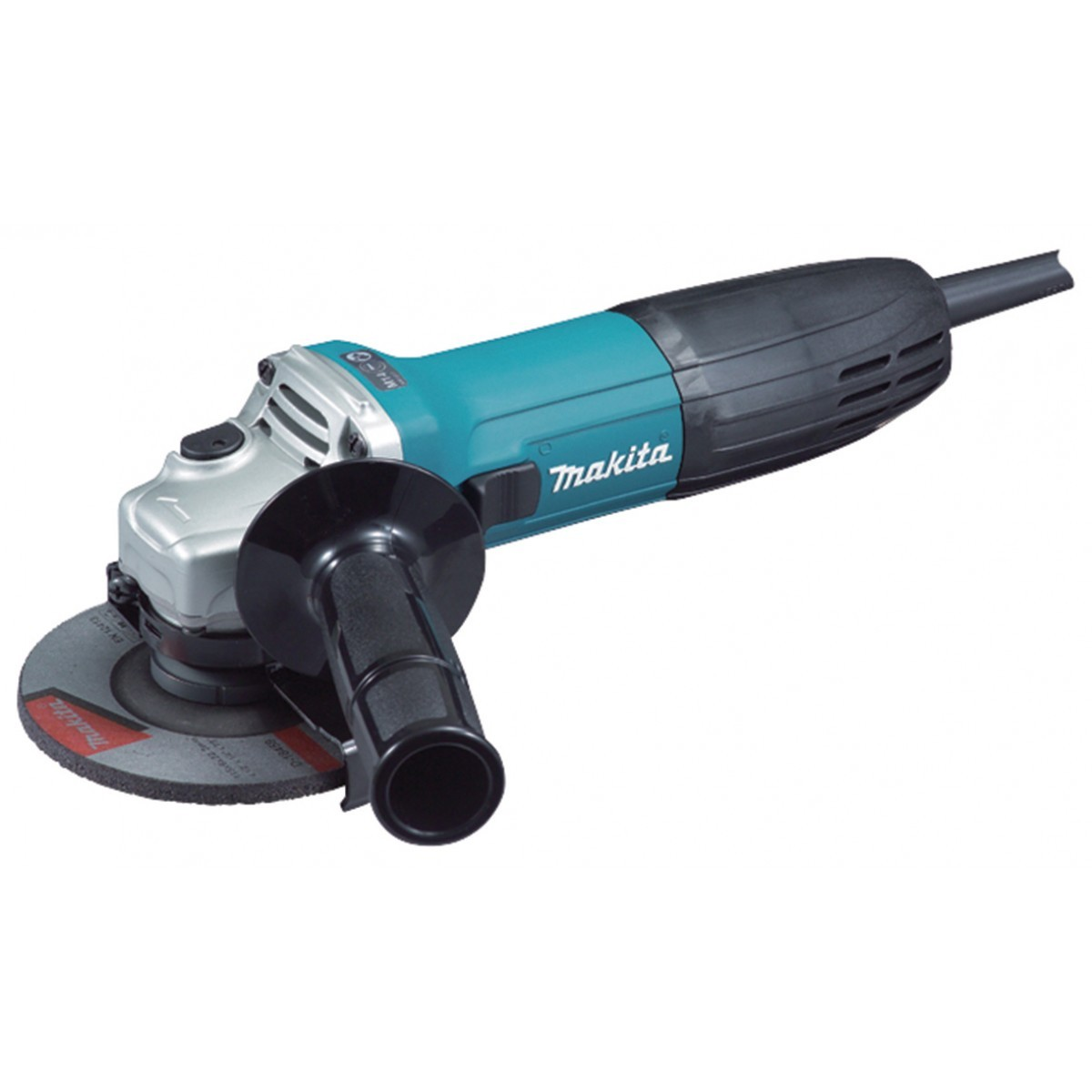 Makita GA4530R 115mm Slim Angle Grinder 720W with Anti-Restart