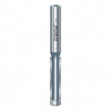 Trend 46/07X1/4TC Guided trimmer 6.3 mm dia. 25.4mm lng.