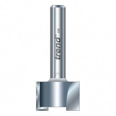 Trend 47/2X1/4TC Trimmer 18 mm dia. 12mm lng.