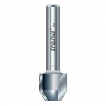 Trend 47/5X1/4TC Combi trimmer 21 mm dia.