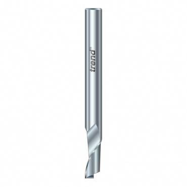 Trend 50/10X1/4HSSE Helical plunge cutter 10 mm dia.