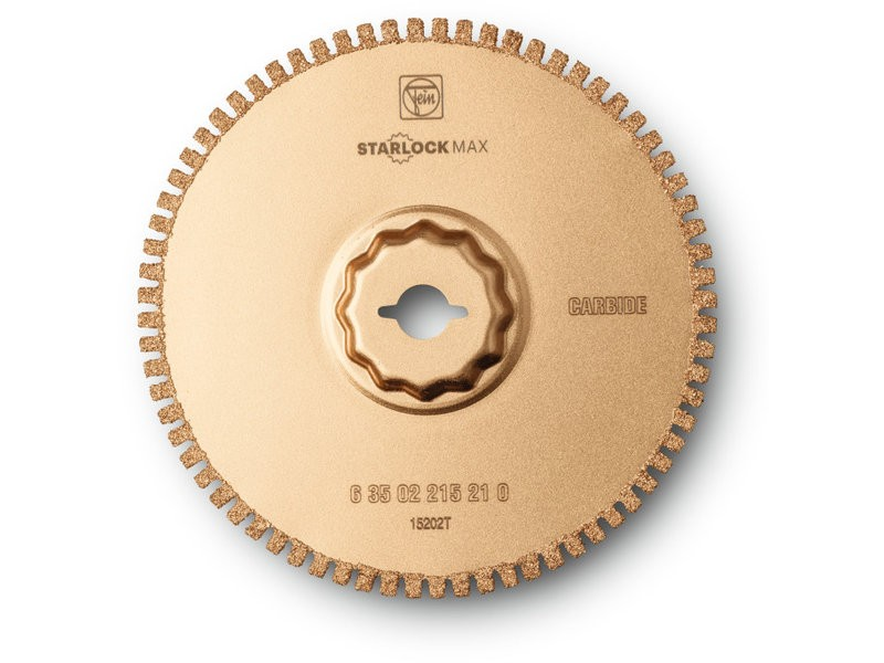 Fein Starlock Max Segmented Carbide Open Tooth Saw Blade SLM 105x1.2mm - 63502215210