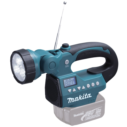 Makita BMR050Z 14.4v/18v Job Site Radio with Flashlight Body Only