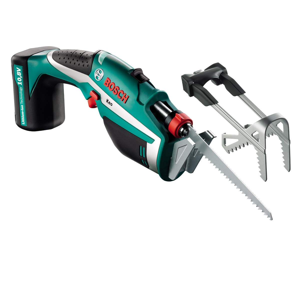Bosch Green Keo Set 10 8v Cordless Garden Saw With