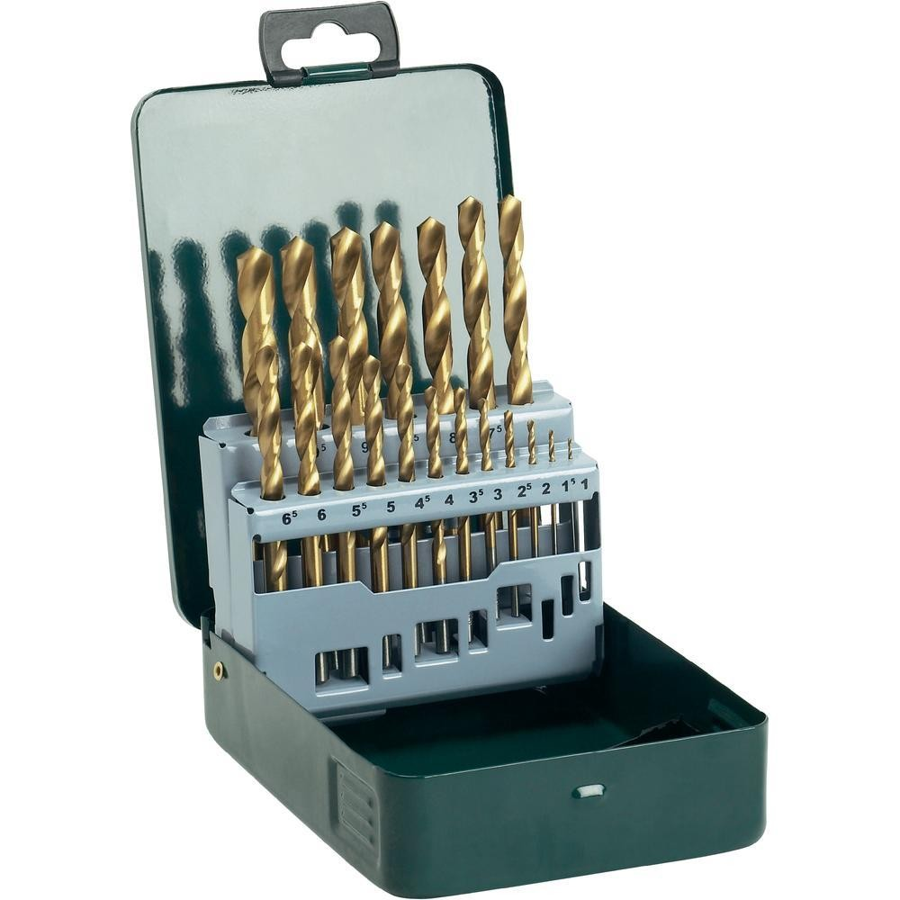 Bosch HSS-TiN Promoline Metal Drill Bit Set x19 Pieces 2607019437