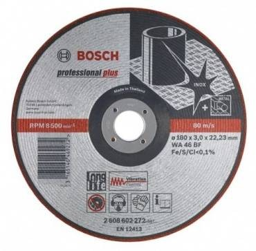Bosch Semi-Flexible Grinding Disc 125 x 3.0 x 22mm 2608602218