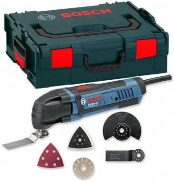 Bosch GOP 250 CE 110v Multi Cutter inc 8 Accessories in L-Boxx