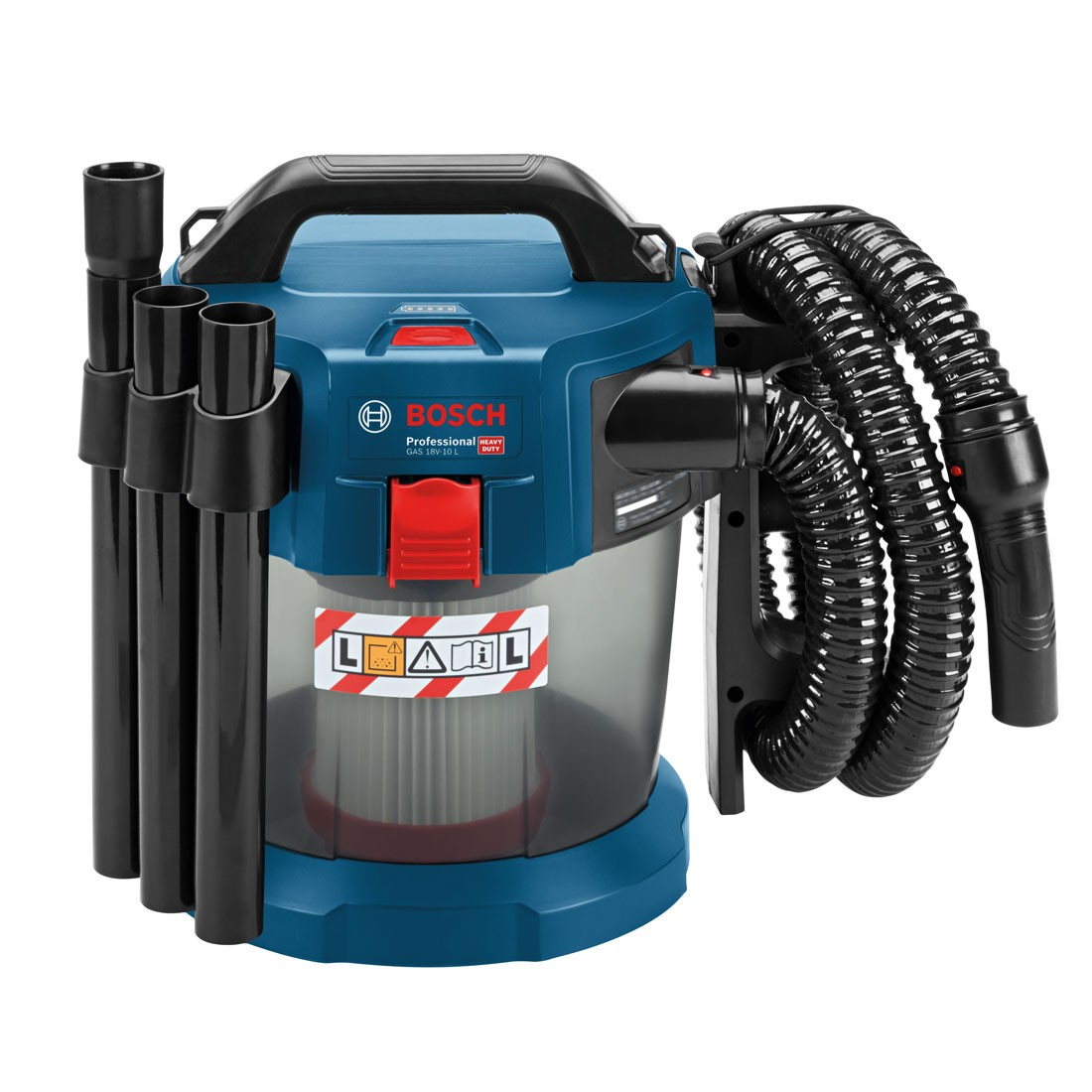 Bosch Gas 18 V 10 L Professional Cordless Wet Dry Dust