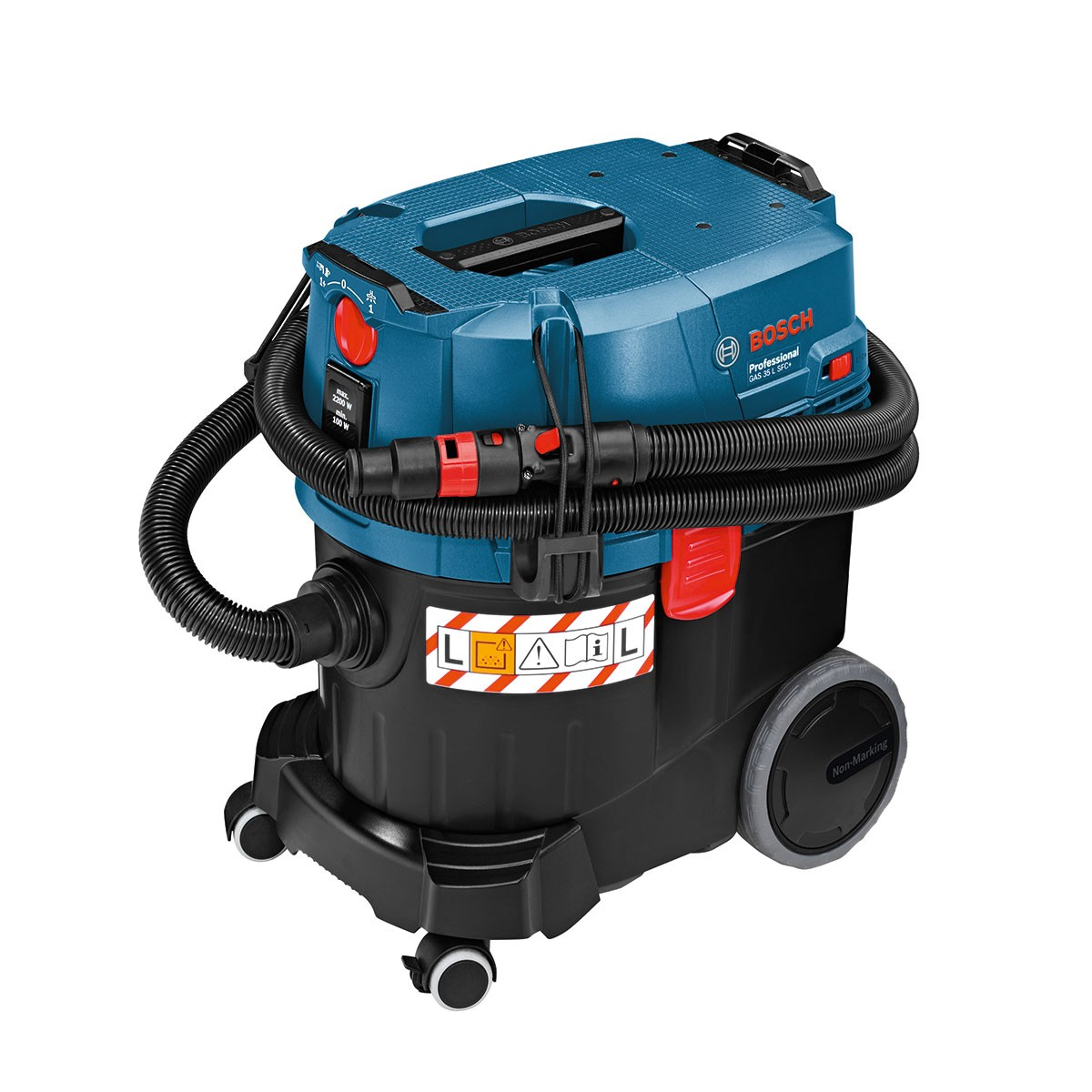 bosch gas 35 l sfc professional wet dry dust extractor vacuum 240v powertool world. Black Bedroom Furniture Sets. Home Design Ideas