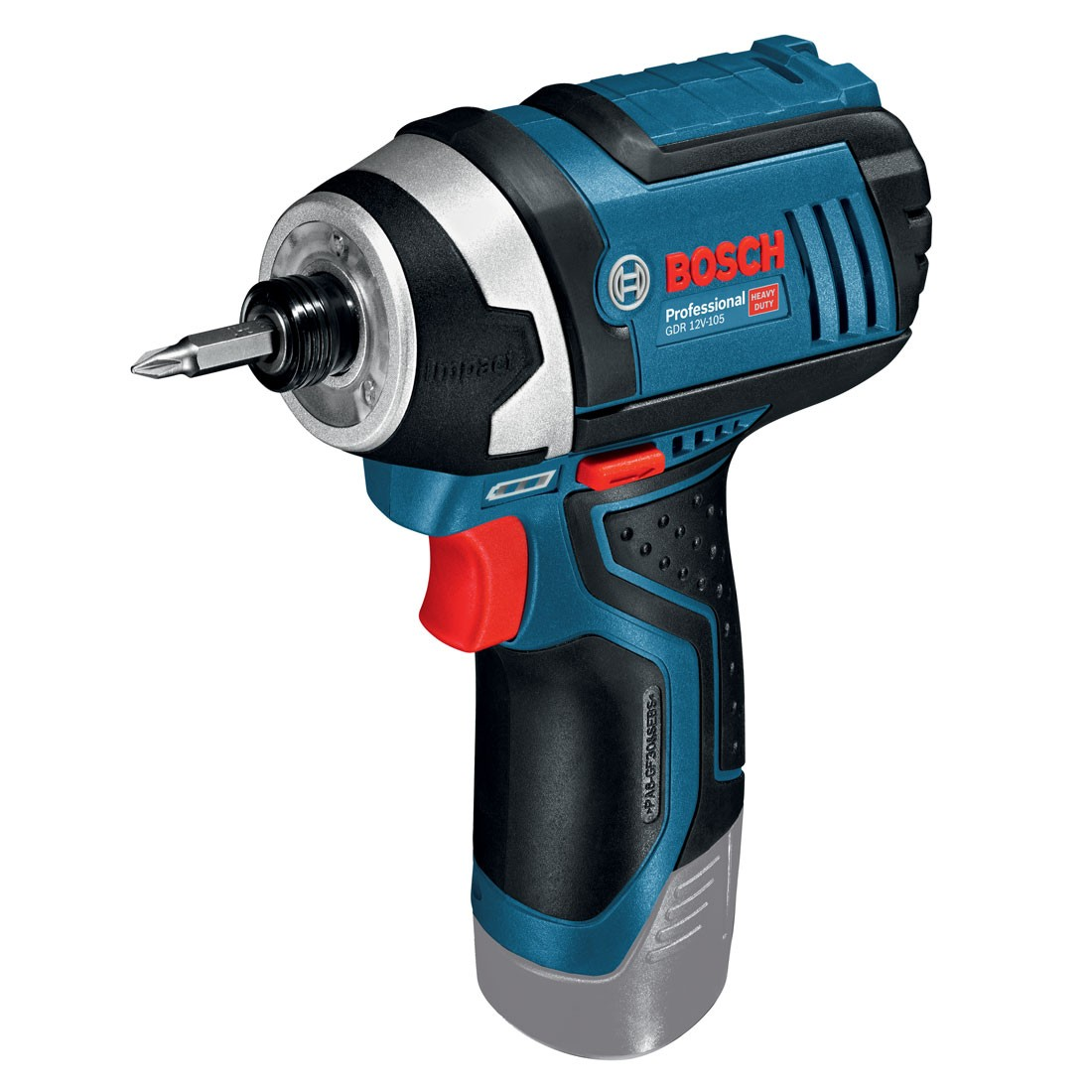 bosch gdr 12v 105 professional cordless impact driver body only powertool world. Black Bedroom Furniture Sets. Home Design Ideas