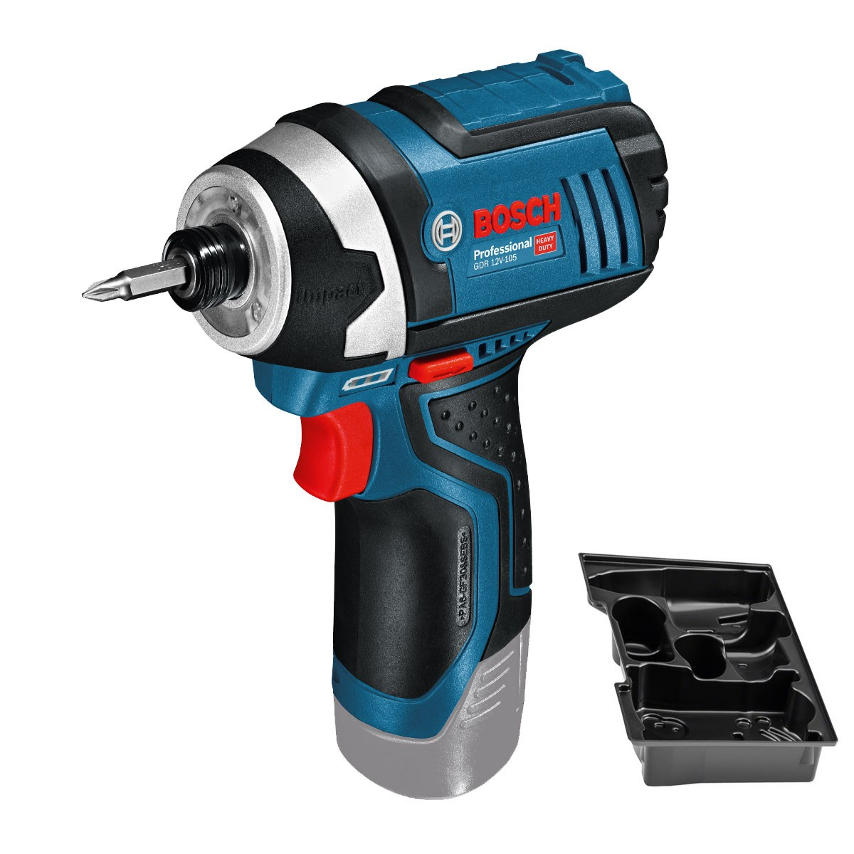 Bosch GDR 10.8-LI (12V-105) Cordless Impact Driver Body Only with Inlay in Carton