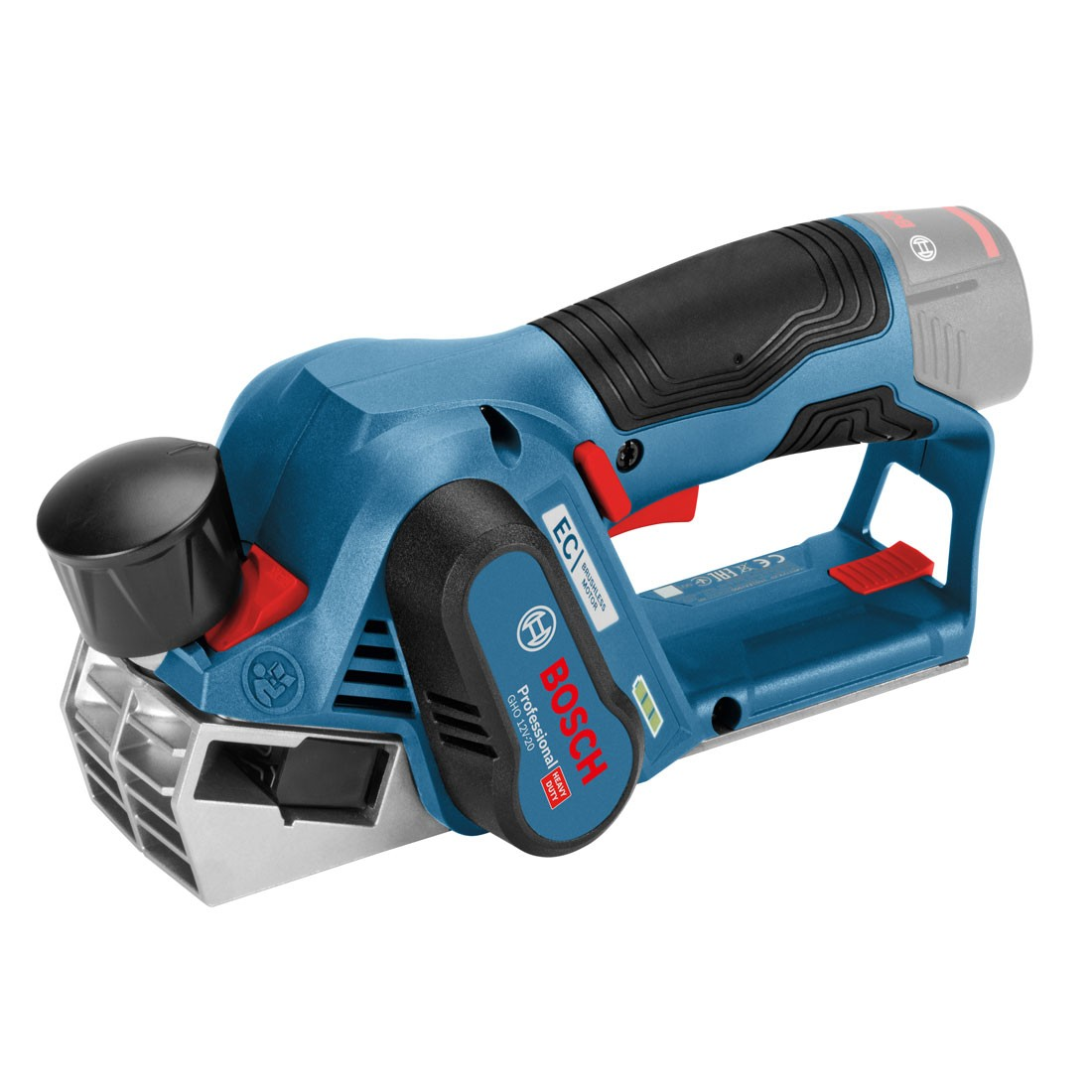 Bosch gho 12v 20 brushless cordless compact planer 56mm for Bosch electric motors 12v