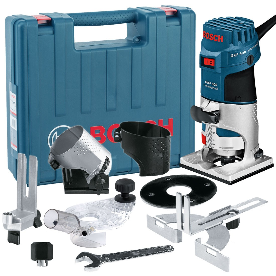 Bosch gkf 600 14 palm routerlaminate trimmer kit inc extra bases bosch gkf 600 14 palm routerlaminate trimmer kit inc extra bases powertool world greentooth Gallery