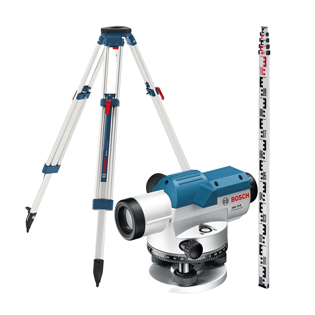 Bosch GOL 32D + BT160 + GR500 Optical Level Set