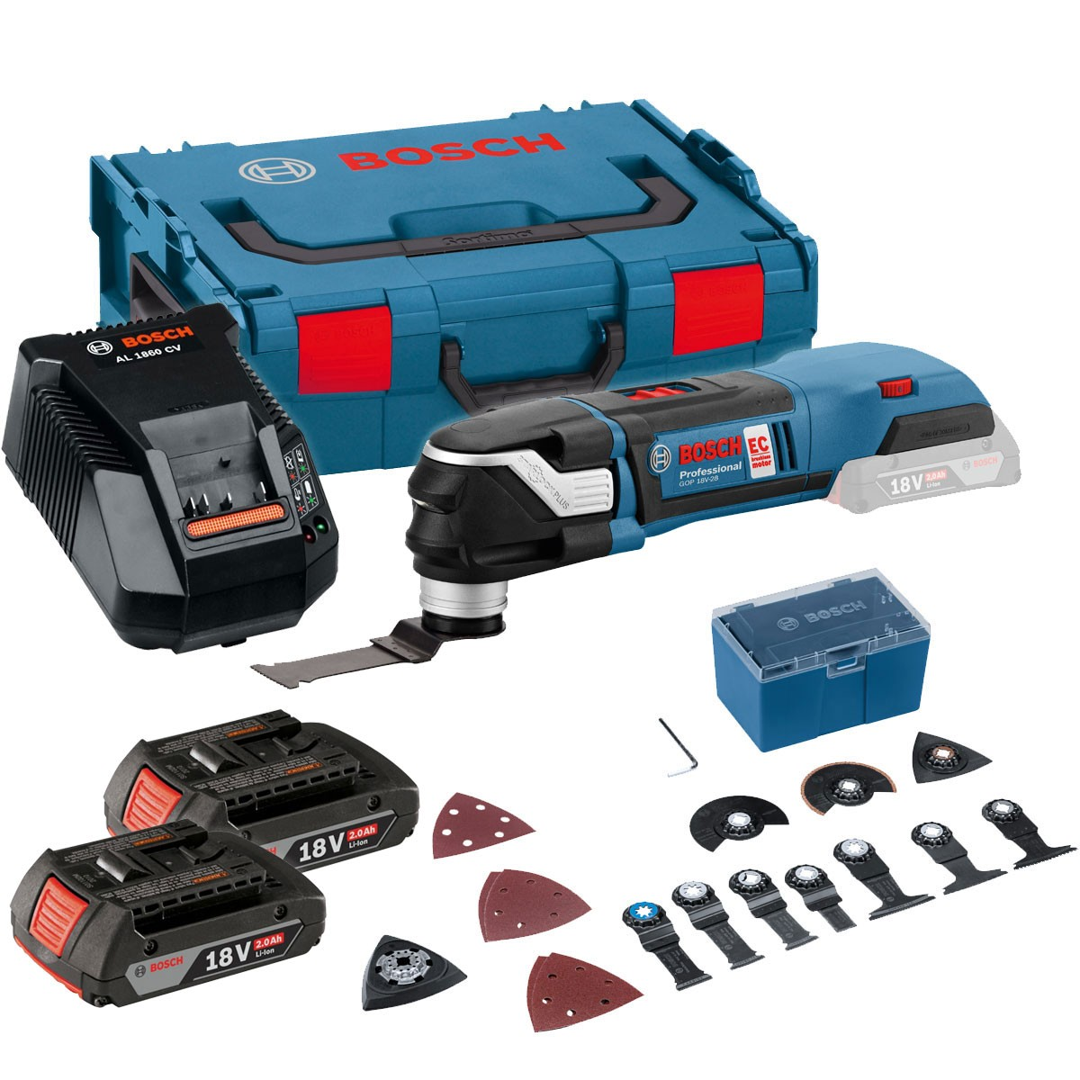 Bosch GOP LED Light Professional Cordless Multi Cutter Body Tool Only W