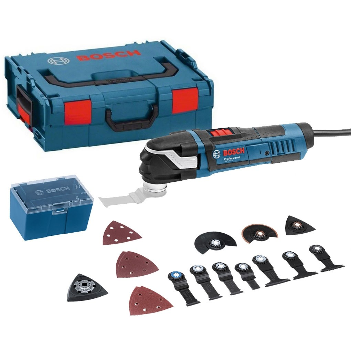 Bosch GOP 40-30 Professional Starlock Plus Multicutter inc 15 Accessories in L-Boxx